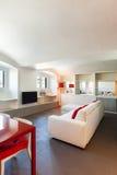 Interior, beautiful apartment Royalty Free Stock Photo