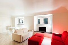 Interior, beautiful apartment Stock Photos