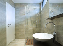 Interior beautiful bathroom Royalty Free Stock Photo