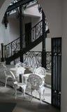 Interior of Beautiful Cafe Stock Image