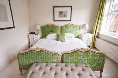 Interior Of Beautiful Contemporary Bedroom Stock Image