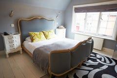 Interior Of Beautiful Contemporary Bedroom royalty free stock photos