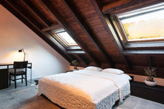 Interior, beautiful loft Stock Photos