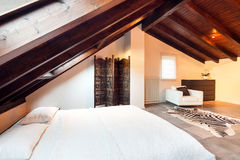 Interior, beautiful loft Stock Photography