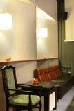 Interior of beautiful and modern billiard Stock Image