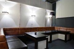 Interior of beautiful and modern billiard Royalty Free Stock Photos