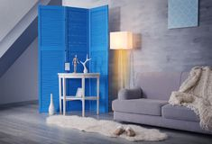 Interior of beautiful room. Interior of beautiful modern room Royalty Free Stock Images