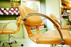 Interior of Beauty Salon Royalty Free Stock Photo