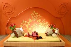 Interior bed design Stock Photos
