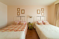 Interior of bedroom Royalty Free Stock Photography