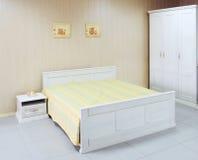 Interior bedroom. View of modern bedroom interior Stock Image