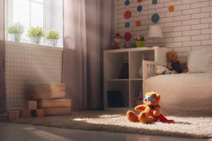 Interior of bedroom for child. Stock Photography