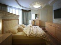 Interior bedroom loft style Royalty Free Stock Photos
