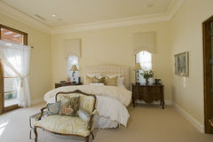 Interior Of Bedroom Royalty Free Stock Image