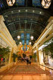 Interior of the Bellagio Casino hallway in Las Vegas Royalty Free Stock Photos