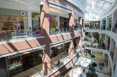 Interior of Big shopping mall Royalty Free Stock Image