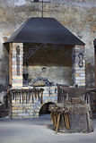 The interior of a blacksmiths workshop Royalty Free Stock Image