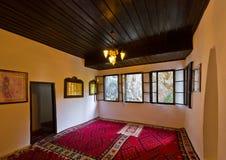 Interior of Blagaj dervish house - Bosnia and Herzegovina. Architecture travel background Royalty Free Stock Photos