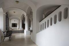 Interior blanco Fotografía de archivo libre de regalías