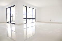 Interior blanco, reflexión Imágenes de archivo libres de regalías