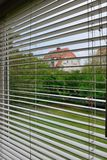Interior Blinds Stock Photography