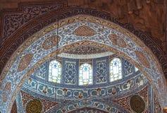 Interior of Blue Mosque Royalty Free Stock Photos