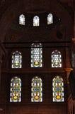 Interior of Blue Mosque in Istanbul, Sultanahmet Stock Photo