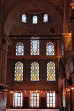 Interior of Blue Mosque in Istanbul, Sultanahmet Stock Photography