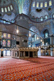 Interior of the Blue Mosque, Istanbul. Turkey Stock Photo