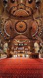 Interior of the Blue Mosque (Sultanahmet Mosque) Stock Photography