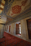 Interior of the Blue Mosque (Sultanahmet Mosque). In Istanbul, Turkey Royalty Free Stock Image