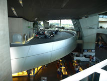 Interior BMW welt Royalty Free Stock Photo
