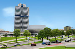 Exterior of Bmw Welt Royalty Free Stock Photo