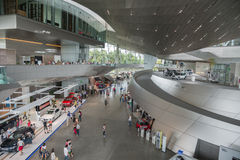 Interior of Bmw Welt Stock Images