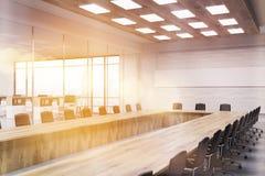 Interior of board room Stock Image