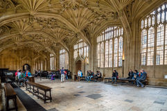 Interior of Bodleian Library Stock Photos