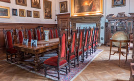 Interior of Bojnice castle, slovakia Royalty Free Stock Images