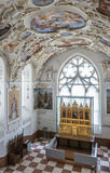 Interior of Bojnice castle, slovakia royalty free stock photo