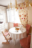 Interior bonito da cozinha Foto de Stock Royalty Free