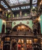 Interior bonito do castelo de Peles foto de stock royalty free