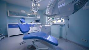 Interior bonito do escritório dental moderno vídeos de arquivo