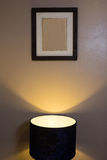 Interior bonito do quarto na casa luxuosa nova Fotografia de Stock