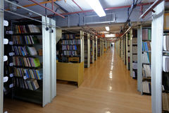 Interior of book depository Stock Photography