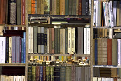 Interior of bookstore, bookshop. Royalty Free Stock Photography
