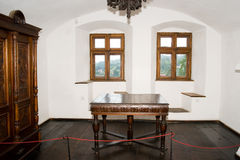 Interior of bran castle Royalty Free Stock Images