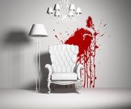 Interior branco Imagens de Stock Royalty Free