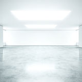 Interior branco vazio Imagem de Stock