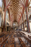 Interior of the Bremer Dom Cathedral Royalty Free Stock Photos