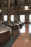 Interior of a brewery Royalty Free Stock Photo