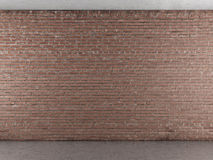 Interior with brick wall Stock Photography